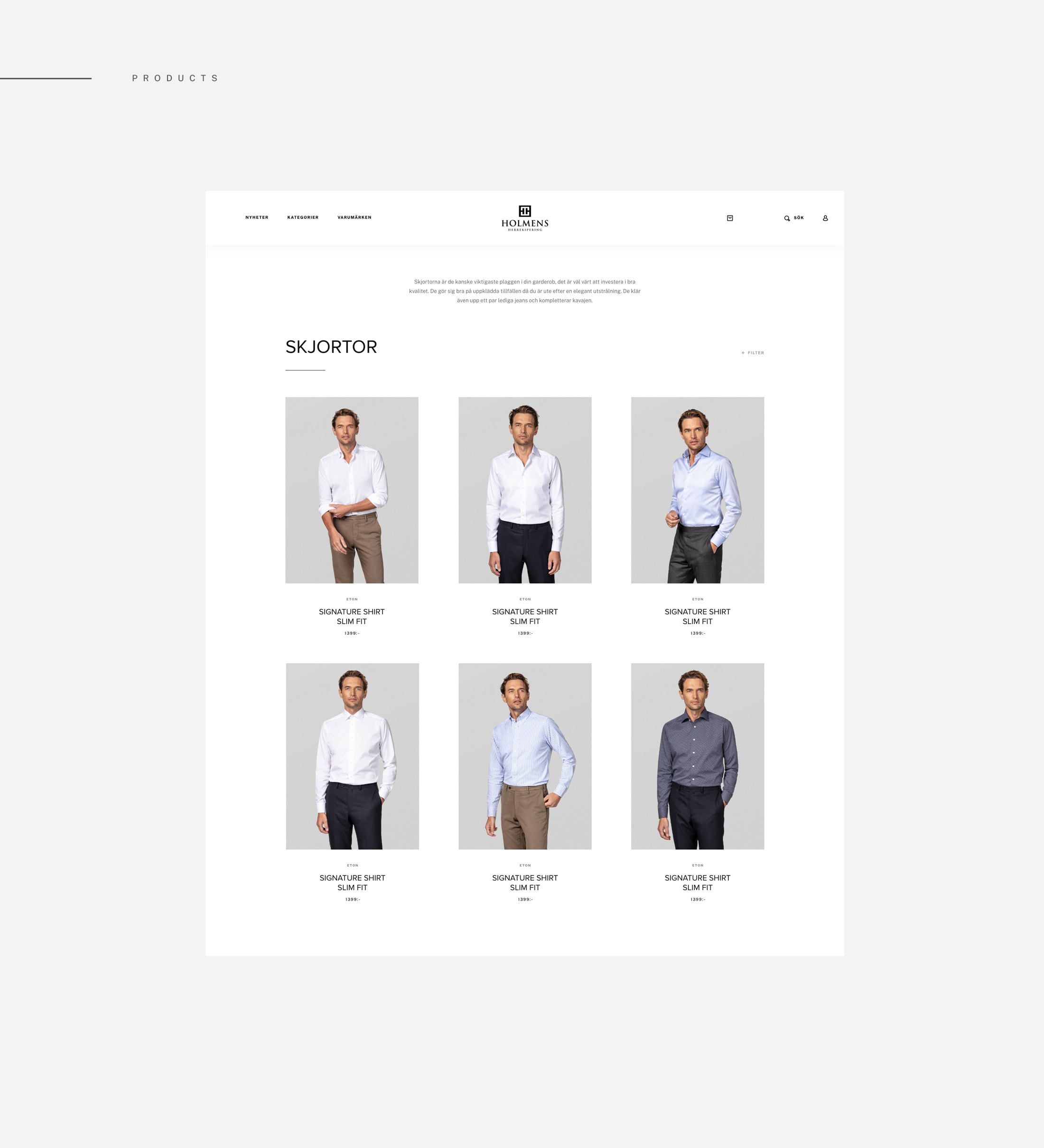 UI Design E-commerce Product Page